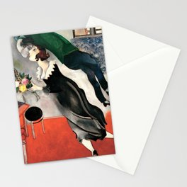 Marc Chagall The Birthday Kiss Anniversary Vintage Stationery Cards