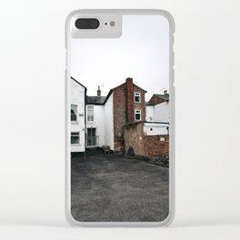 back yard in UK Clear iPhone Case