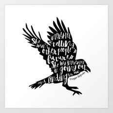 Other People's Futures - The Raven Boys Art Print