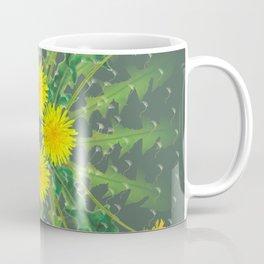Dandelion Cycle Coffee Mug
