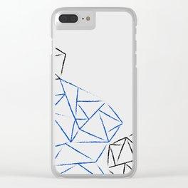 Astoria Grey Clear iPhone Case