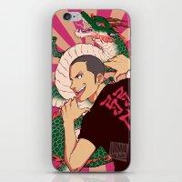dragon iPhone & iPod Skins featuring dragon by JohannaTheMad