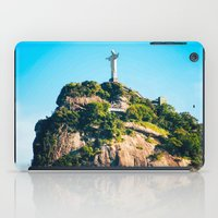 christ iPad Cases featuring Christ Redeemer by Edgard Mello