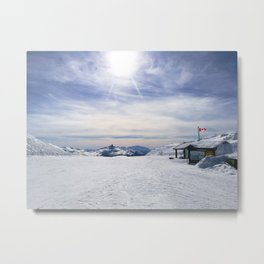 Little Whistler Peak Metal Print