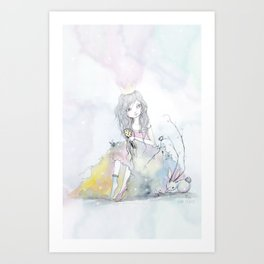 Princess 100 Art Print