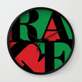 Renegades Red & Green Wall Clock