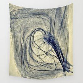 A Web for a Blanket Wall Tapestry