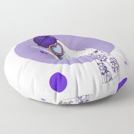 Saturn Floor Pillow