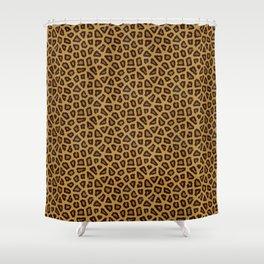Leopard Skin Fur Pattern Shower Curtain