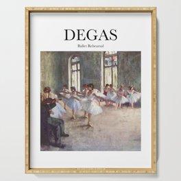 Degas - Ballet Rehearsal Serving Tray