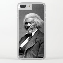 Fredrick Douglass Clear iPhone Case