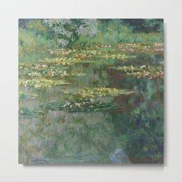 Monet, Le Bassin des Nympheas, 1904 Metal Print