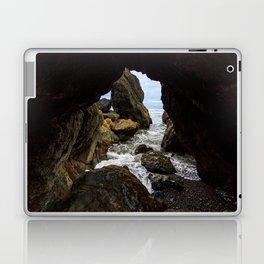 Ruby Beach Sea Cave Laptop & iPad Skin