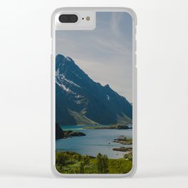 Midsummer Dream in Lofoten Norway Clear iPhone Case