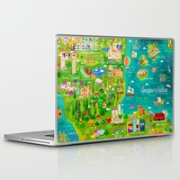 narnia Laptop & iPad Skins featuring Imagine Nation by Kitkat Pecson