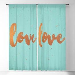 Acrylic 5 - Love! Blackout Curtain