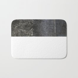 collage black Bath Mat