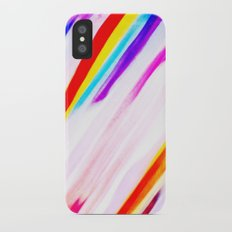 Rainbow for cover iPhone X Slim Case