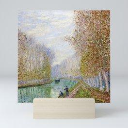 River Seine, Autumn, Paris, France by Francis Picabia Mini Art Print