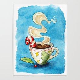 Christmas cocoa Poster
