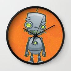 Silly Robot Wall Clock
