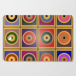 Rectangles & Circles #3 Cutting Board