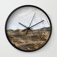 dune Wall Clocks featuring Dune by Nancy J's Photo Creations