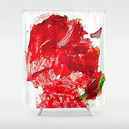 The Fugue of Fiction. Shower Curtain