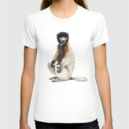 One year old Crowned Sifaka T-shirt