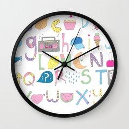 ABC'S Wall Clock