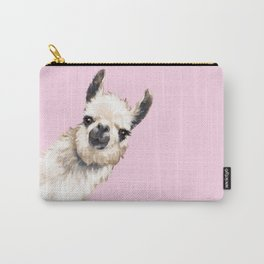 Sneaky Llama Carry-All Pouch