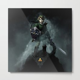 Legend Of Zelda - Skyward Sword Metal Print