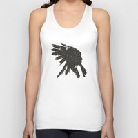 indian Tank Tops featuring Indian by ammooina