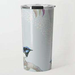 Blue Wren Australian Birds Travel Mug