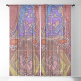 Mother Womb Sheer Curtain