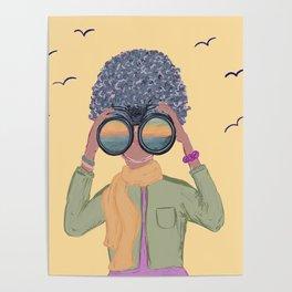 Undercover Birding Poster