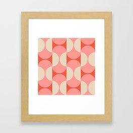 Capsule Modern Framed Art Print