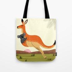 The Kangaroo and The Koala Tote Bag