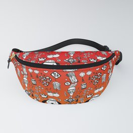 Chinese New Year Doodles Fanny Pack