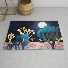 Desert Lake Moonlight Rug