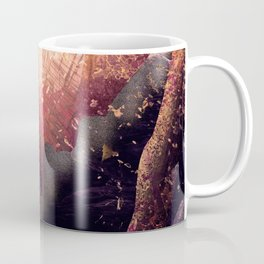 As a sun warms a forest Coffee Mug