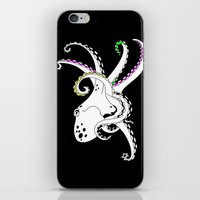 octopus iPhone & iPod Skins featuring Octopus by mailboxdisco