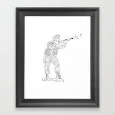 Military Art Framed Art Print