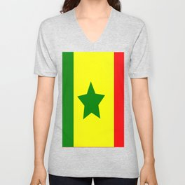Flag of Senegal Unisex V-Neck