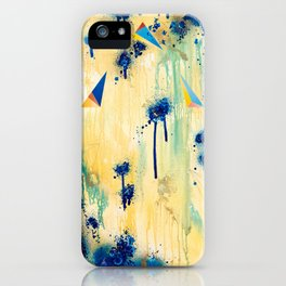 As Depth Drowns In The Shallows (Isolation Of The Alchemist) iPhone Case