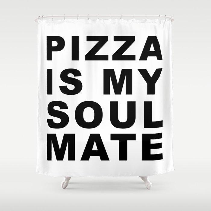 Pizza Shower Curtain By Littleladybug