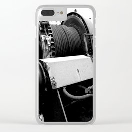 Cable Winch Clear iPhone Case