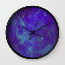 DEEPBLUESEA SMOKE Wall Clock
