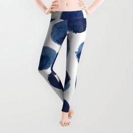 Watercolor polka dots Leggings