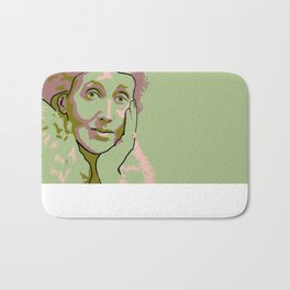 Virginia Woolf Bath Mat